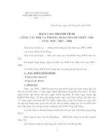 BAO CAO TONG KET DOI 06-07