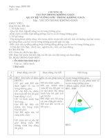 giáo án hình 11 kì 2 (4 cột) 29-33