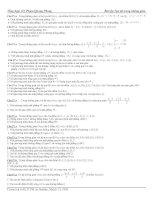 ôn thi TN THPT : Tổng hợp bài tập tọa độ trong Kj