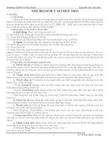Bài soạn word 2003