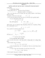 Phần I: Hướng dẫn giải số phức bằng máy tính cầm tay