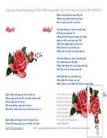 Các bài thơ hay về ngày 20-11