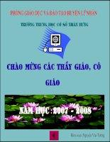 phuong trinh bac nhat hai an