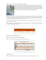 Trộn thư và liên kết dữ liệu giữa Word và Excel 2007