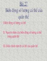 Bai 27-Bien dong so luong ca the