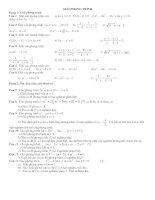 bài tập ôn thi vào lớp 10 chuyên đề giải phương trình
