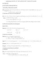 HÀM SỐ LUỸ THỪA,HÀM SỐ MŨ VÀ HÀM SỐ LỔGARÍT