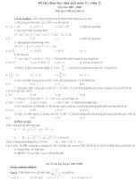 Các đề thi HSG lớp 9