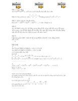 đề thi toán học sinh giỏi 8
