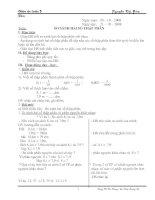 Bài 35: So sánh hai số thập phân