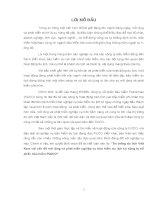 """""""Thị trường du lịch Việt Nam với vấn đề mở rộng và phát triển nghiệp vụ bảo hiểm du lịch tại công ty cổ phần bảo hiểm PIJICO""""."""