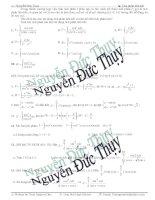 Các bài toán tích phân liên kết