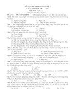 Đề thi HSG vật lý 9