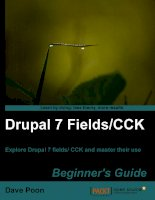 Drupal 7   FieldsCCK   beginner's guide (2011)