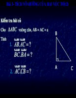 tích vô hướng của 2vector