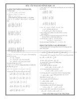 Bài tập hỗn hợp -10
