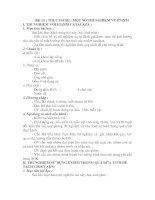 Bài 15. Thực hành một số thí nghiệm về Enzim