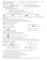 Đề Kt học kỳ 2 - đê1