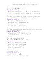 Đề thi thử tốt nghiệp môn toán ban KHTN-số 1