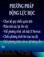 Phuong phap dong luc hoc