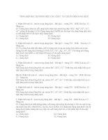 Bài tập sách giáo khoa nhận biết chuẩn độ