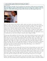 Lưu ý bảo quản thức ăn trong tủ lạnh