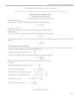 Tuyển tập :Trắc nghiệm khách quan vật lý 11