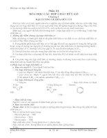 Sổ tay hóa học THPT_Phần hữu cơ