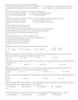 bài kiểm trra 1 tiết lần 2 lớp 10 cơ bản