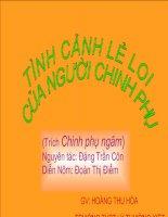 Tiet 78. Tinh canh le loi cua nguoi chinh phu