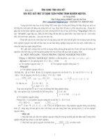 Chuyên đề Giải phương trình nghiệm nguyên