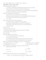 Luyện thi DH - Phần dao động và sóng