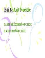 BAI 4: Sự chuyển động của electron trong nguyên tử, obitan nguyên tử
