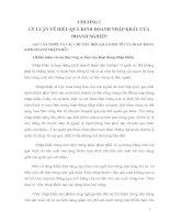 MỘT SỐ BIỆN PHÁP NÂNG CAO HIỆU QUẢ KINH DOANH CỦA HOẠT ĐỘNG NHẬP KHẨU HOÁ CHẤT VÀ THIẾT BỊ Y TẾ Ở CÔNG TY TNHH SELA_SELACO