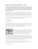106 thủ thuật với Microsoft Office - Phần 1