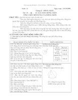 Giáo án Hình 9 chương 2(nâng cao)