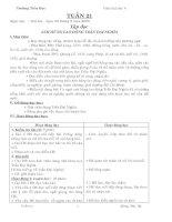 G/A lớp 4 tuần  21( chi tiết)