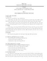 Giáo án lịch sử 11 nâng cao