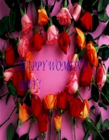 Chúc mừng ngày quốc tế phụ nữ!