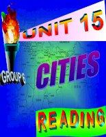 unit 15: Cities