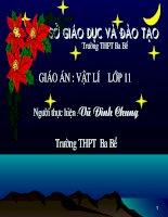 Bai giang lop 11-Cam ung tu
