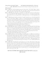 Đề thi và đáp án Học sinh Giỏi Hóa Học lớp 9(vòng 2)TP Quy Nhơn BD9