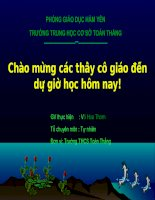 Tiet 41- Luyen tap: Dinh ly talet dao