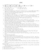 Bài tập TL Hoá 11 NC Chương II (NITO)
