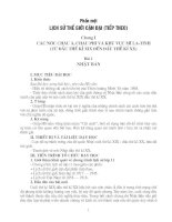 Giáo án lịch sử 11 cơ bản