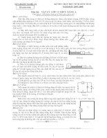 Đề thi HSG Tỉnh Nghệ An (07-08)