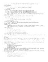 luyện thi vào lớp 10 Chuyên đề CƠ HỌC