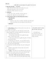 Tiết 14: Chủ đề và dàn bài của bài văn tự sự