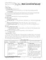 Phong cách ngôn ngữ khoa học (tiết 13-14)