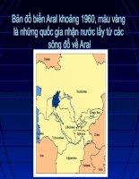 Biển Aral và bài học về môi trường